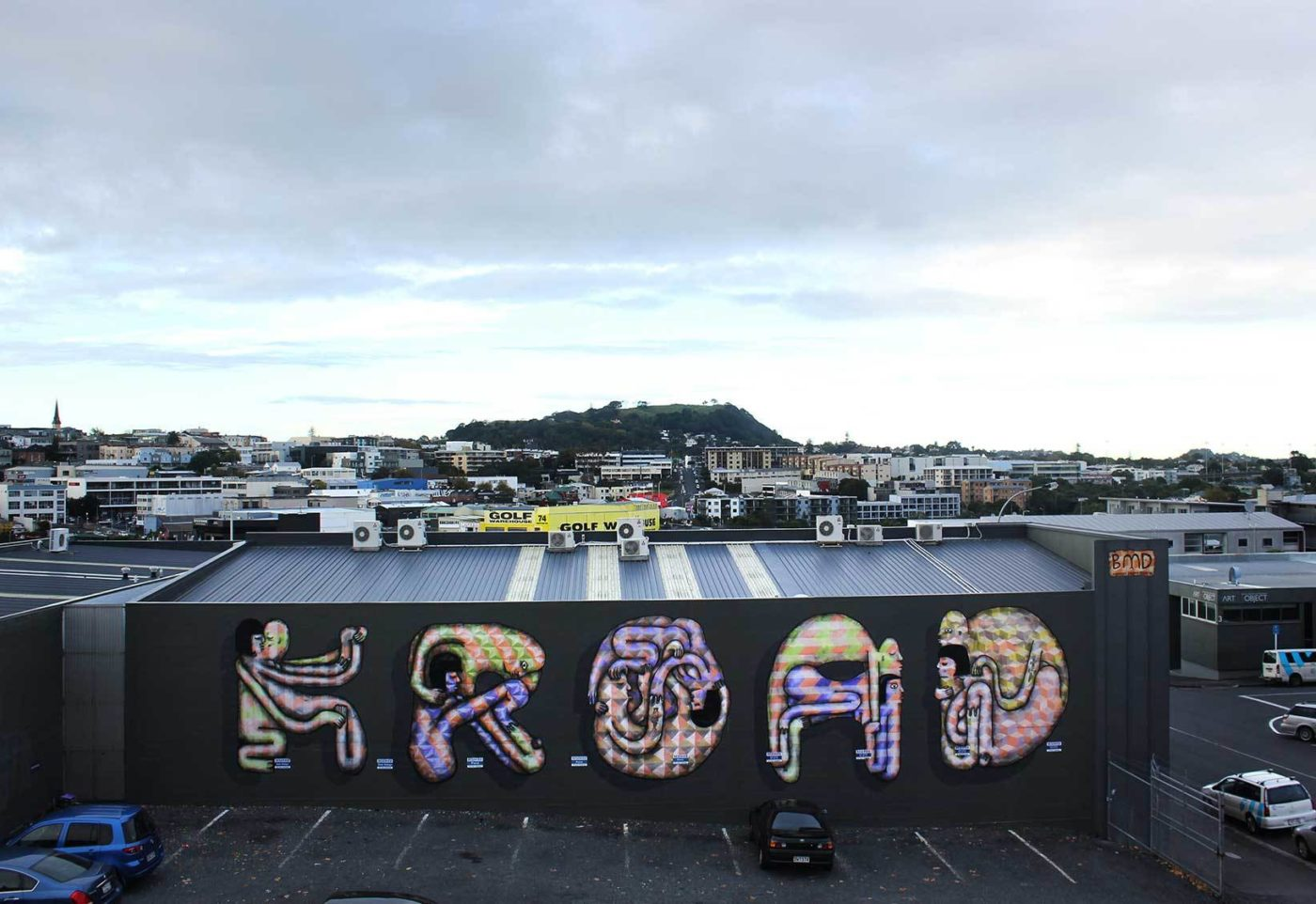 K Road Kama Sutra. Auckland, 2013. With Damin Radford Scott. Photo: Artists own