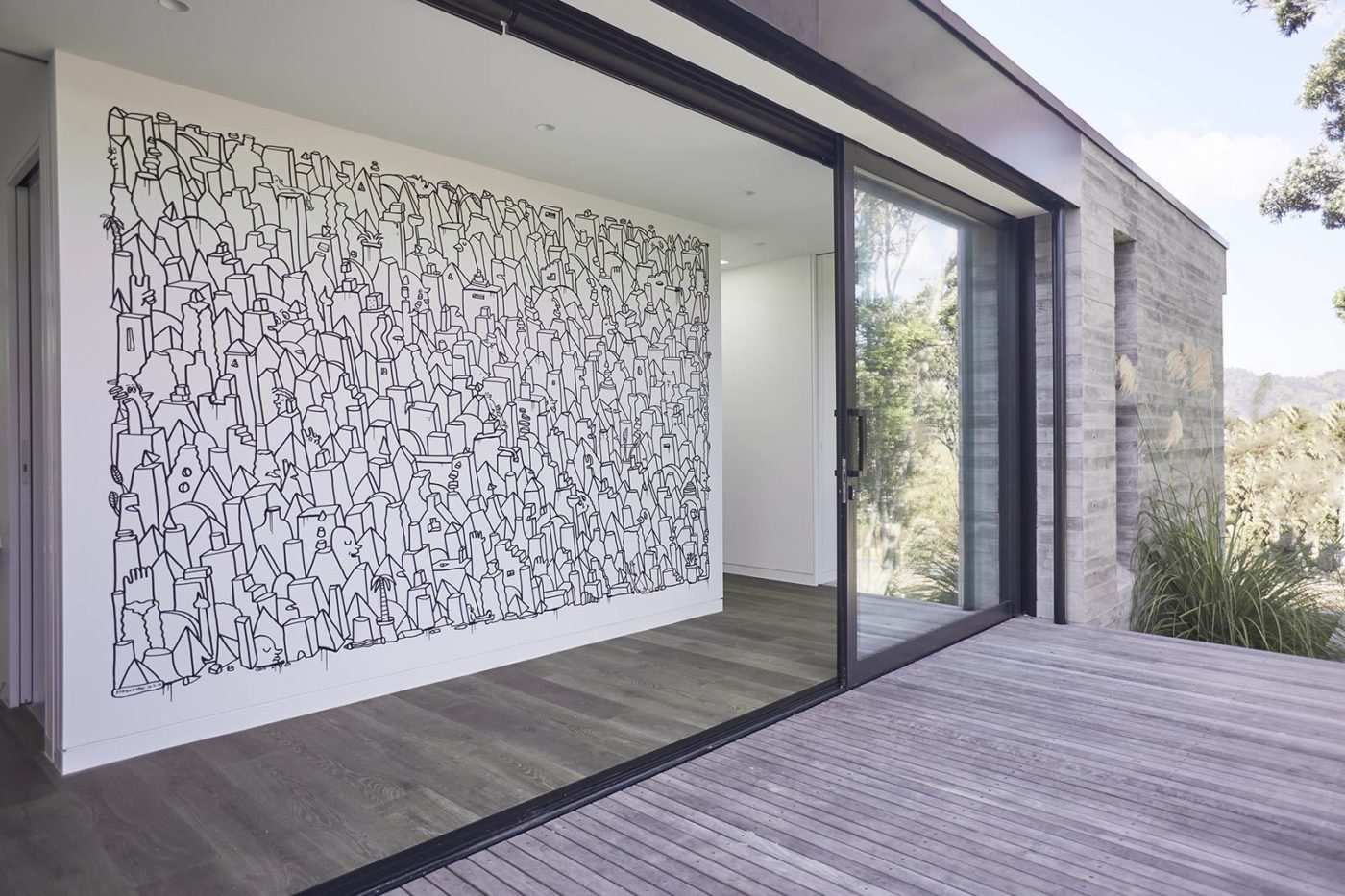 Private commission, Tairua, Coromandel. Architect: Neu Architecture