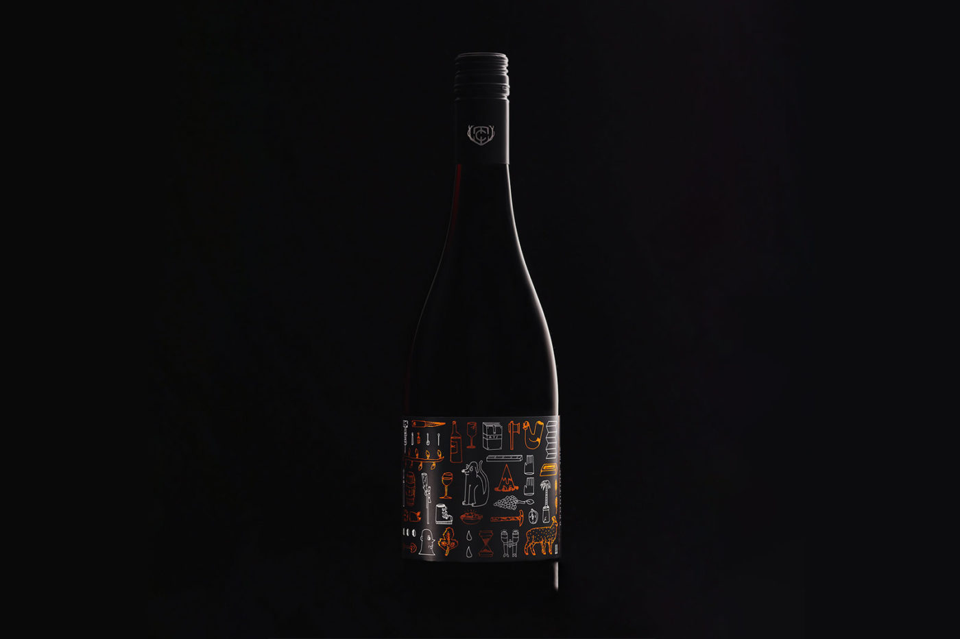 AJS for Matt Connell Wines. Limited edition 2016 Central Otago Pinot Noir